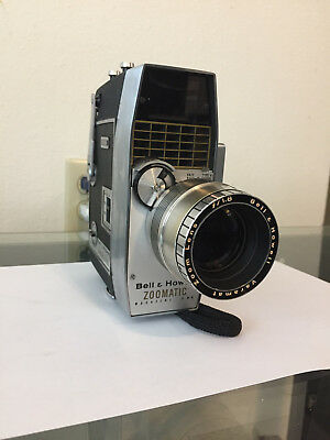 Bell and Howell Zoomatic 8MM Magazine Movie Camera VG