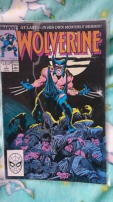 Wolverine 1 1988 - 1St Ongoing Title - 1St As Patch - Vfn