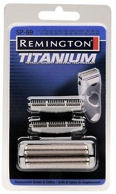 Remington SP-69 MS2 Foil Screen & Cutter Blade Head Silver New - Free Shipping