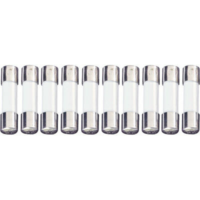 ESKA UL520.617 Quick Acting UL Micro Fuse 5 x 20mm 1A 250V, Pack of 10