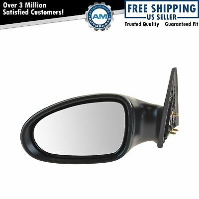 New Pair Set Manual Side View Mirror Glass Housing for 02 03 04-06 Nissan Altima