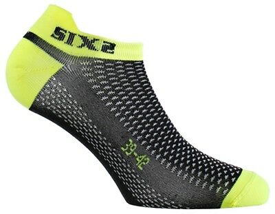 SixS Fant S No-Show Socks Black/Yellow