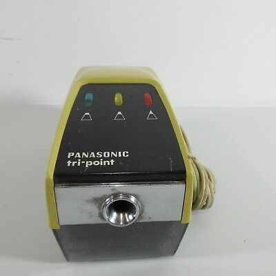 Vintage Panasonic Pencil Sharpener KP-11A Tri Point TESTED WORKING