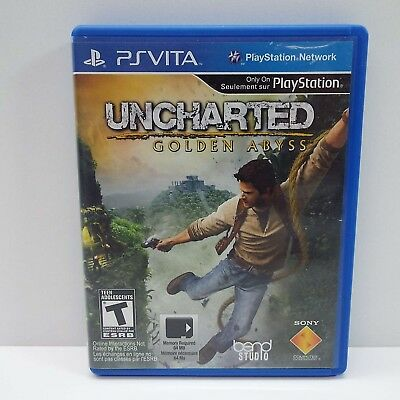 Uncharted: Golden Abyss (Sony Playstation Vita, 2012) Look Description (E3000)