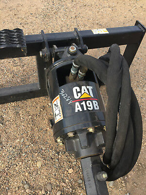 Cat Skid Steer A19B Auger Attachment with Auger