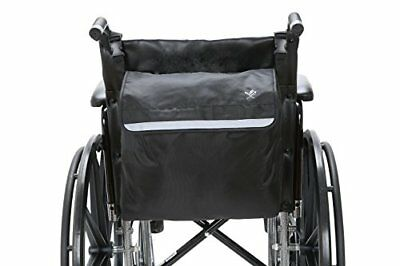 Wheelchair Backpack Carry Bag Pouch Scooter Walker Rollator Hook Water Resistant