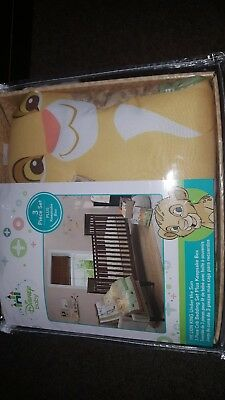Disney Baby THE LION KING Under the Sun 3 Pc Crib Set + Bonus Keepsake Box new