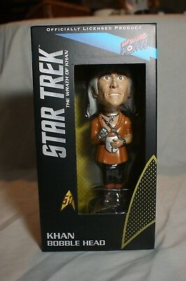Khan ( from the Wrath of Khan) bobblehead. Great condition.Never opened.