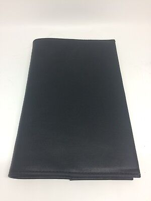 AA 12 Steps and 12 Traditions Black Leather Book Cover