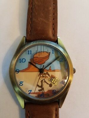 Fossil Warner Brothers Watch Wile E Coyote
