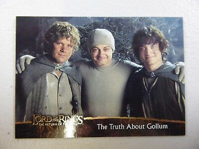 TOPPS Card : LOTR The Return Of The King  #80 THE TRUTH ABOUT GOLLUM