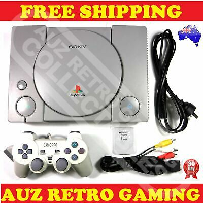 MOD CHIPPED Sony PS1 Playstation 1 Console Pack PS One PSX