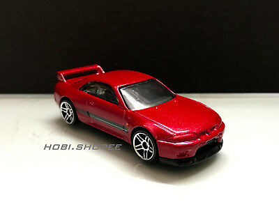 2018 Hot Wheels JDM > Nissan Skyline GT-R R33 , Red Unspun Loose