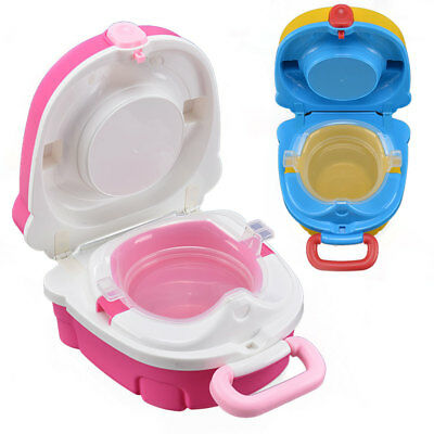 Kids Toilet Seat Child Baby Toddler Training Potty Portable Car Travel Seat