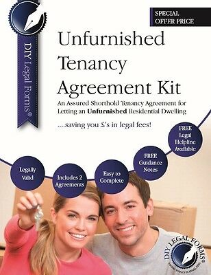 TENANCY AGREEMENT KIT Unfurnished. TOP OF THE RANGE Inc. 2 FORMS +GUIDANCE NOTES