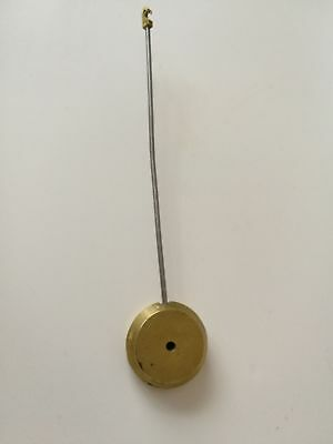 Antique brass and metal clock pendulum
