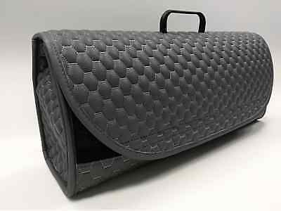 Saab Car Leather Boot Tidy Organiser Fits all Models