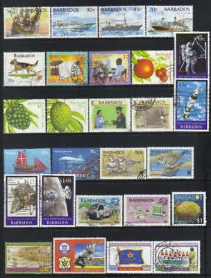 (A94) Barbados 1994-2004 Used Selection Cat £31+