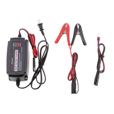 12V DC 5A Smart Car Battery Charger Maintainer for AGM/GEL/WET