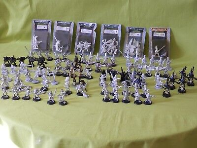 Warhammer 40K Eldar Army Metal - Many Units To Choose From
