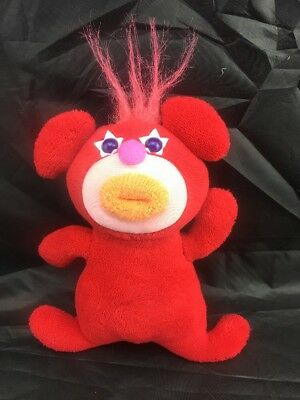 """FISHER-PRICE RED """"SING-A-MA-JIG. PLUSH TOY. Mattel."""