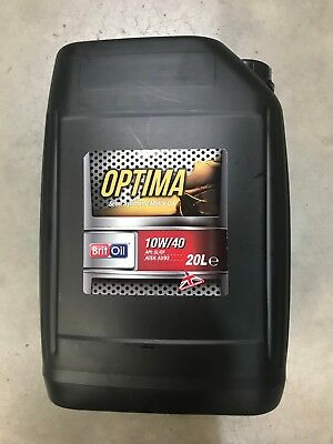 20L 20 Litre Drum tub 10W40 SEMI SYNTHETIC ENGINE MOTOR OIL 10 40 BARRELL OFFER