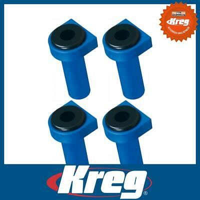 """Kreg KKS1070 3/4"""" 19mm Squared Bench Dogs with Rubber Bench Brakes Woodworking"""