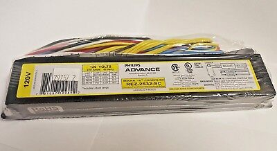 Advance REZ-2S32-SC Mark 10 Dimming Dimmable Ballast for (2) F32T8 F25T8 Lamps