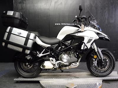 67 Benelli Trk 502 E4 A2 Licence With 3 X Luggage, 3,200 Miles