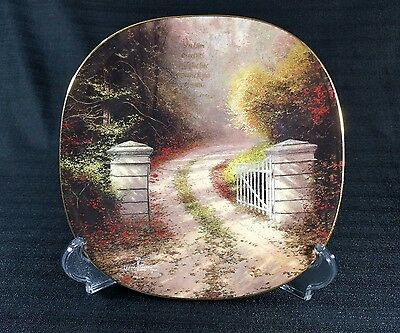 Thomas Kinkadeu0027s 1John 14 Collectors Plate Bradford Exchange Limited Edition & Collector Plates Thomas Kinkade Decorative Collectible Brands ...