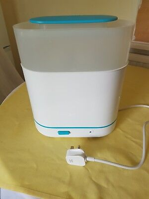 philips avent 3-in-1 electric steam steriliser - used