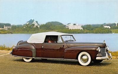 1942 LINCOLN CONTINENTAL Classic Car Long Island NY Auto Museum Vintage Postcard