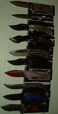 Lot of 10 pcs -Spring Assist Folding Knife (1134)