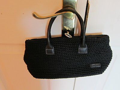 The Sak Black Crochet Handbag