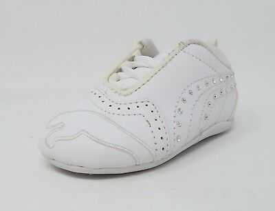 a7e82166483 PUMA SELA DIAMOND Infant Toddler Size Shoes For Girls Off White Pink ...