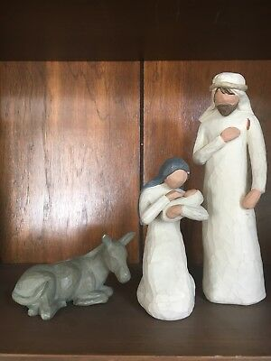 Willow Tree The Holy Family Nativity Demdaco Brand Figurines By Susan Lordi