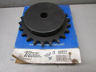 "Martin 60B22 Sprocket 3/4"" Bore"