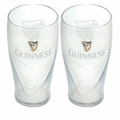 Guinness Gravity Pint Glass (2 Pack)