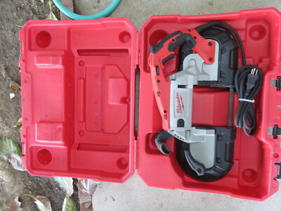 Variable speed band saw deep cut portable Milwaukee 6232-20