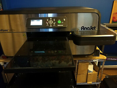 AnaJet MP5i Direct to Garment Printer - Great DTG Printer Just Needs Print Heads