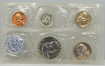 1960 US Mint Issued Silver Proof Set !!