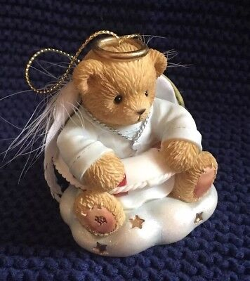 "Bradford Exchange Cherished Teddies Ornament ""I'll Keep You Afloat"""