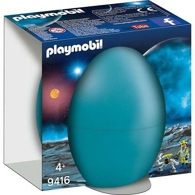 Playmobil 9416 - Space-Agent mit Roboter im Osterei