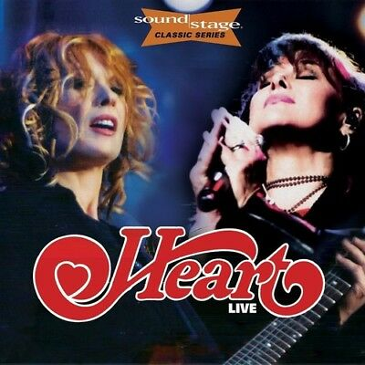 Heart - Live On Soundstage (classic Series) [New CD] With DVD