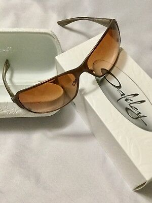 Oakley Ladies Sunglasses w/ Box & Case Dark Copper Metallic! Must See!