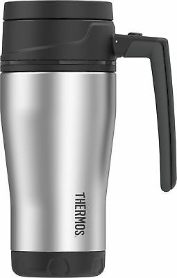 Thermos ELEMENT5 16 Ounce Vacuum Insulated Stainless Steel Travel Mug, Black/...