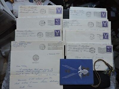 LOT x17 LETTERS +STAMP COVERS WWII WORLD WAR II +! ZUCCHI MARSHALL ISLANDS NAVY+