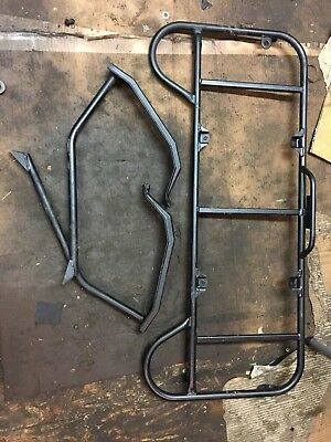 2007 - 2013 Yamaha Grizzly 550 700 Rear Carrier Rack And Support Bars