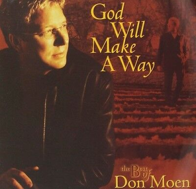 Don Moen - God Will Make A Way - Best Of Don Moen [New CD] With DVD