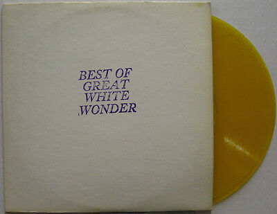 BOB DYLAN Best Of Great White Wonder YELLOW COLORED VINYL TMOQ